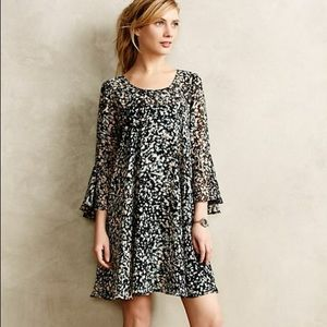 Paper Crown Droplets Dress Long Sleeve Small